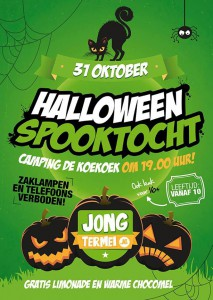 Poster Spooktocht 2014